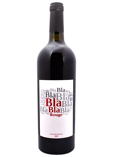 bla bla red wine